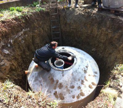 Umbau: Heizung & Eisspeicher – SolarEis System