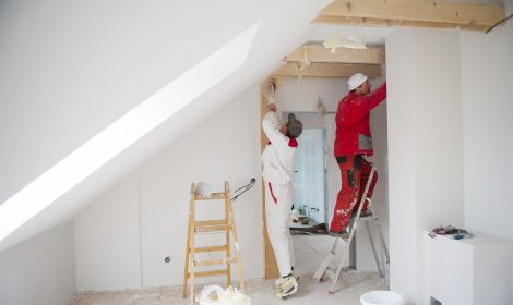 Umbau einer Wohnung
